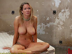 Busty Blonde Had a Great BDSM Experience With Her Master