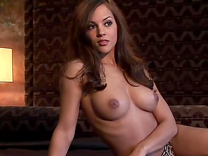 This breath taking beauty Brunette Takes Her Bikini Off Slow & Sexy