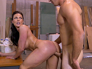 Fantastic rear banging with busty Pornstar mature Kendra Lust