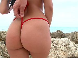 Insane Threesome With Big Booty Latin Babes