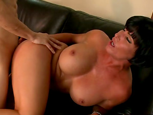 Shay Fox the slutty mature spreads her legs by her colleague