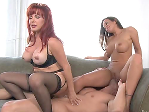 AMAZING FFM THREESOME WITH EMMA HEART AND SEXY VANESSA