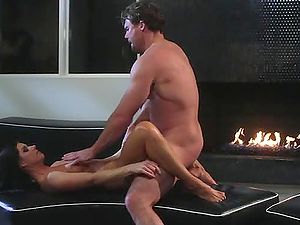 AUBREY ADDAMS SHOWS ALL THE BASICS IN SEX WITH A HORNY MAN