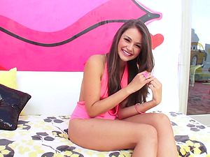 ALLIE HAZE ENDS UP WITH A MOUTHFUL OF SEMEN AFTER BEING FUCKED